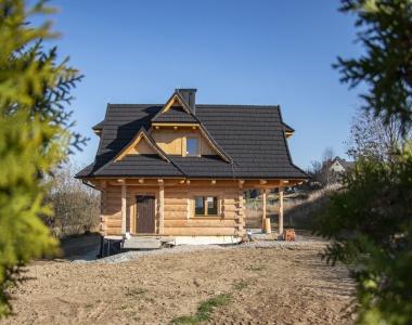 Dom z bala w Gliczarowie Górnym